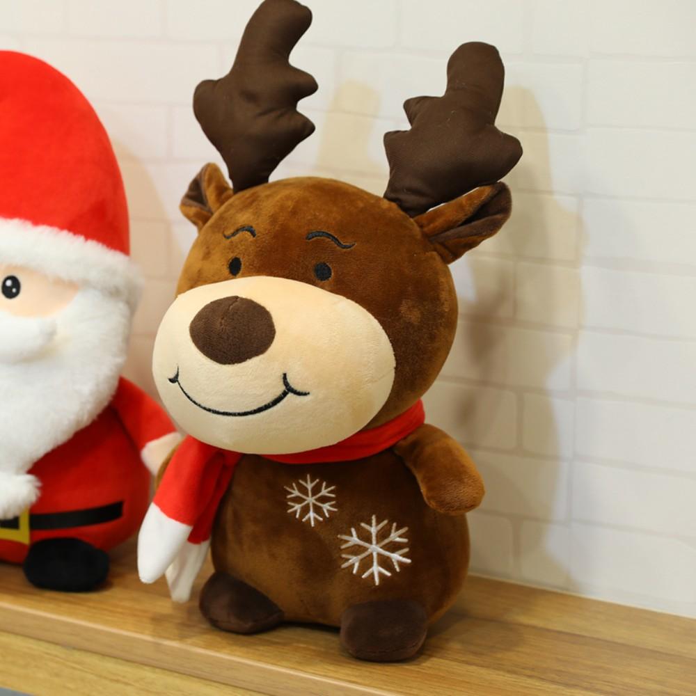 크리스마스 산타 루돌프 인형 사이즈 대형 소형 쿠션, 루돌프 40cm