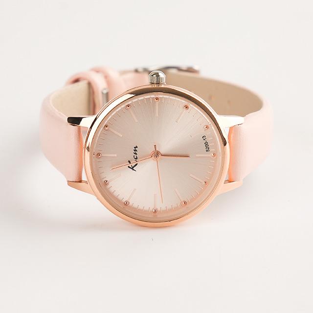 저비샵 Kcm 여자 여성 학생 손목 시계 선물 CU875