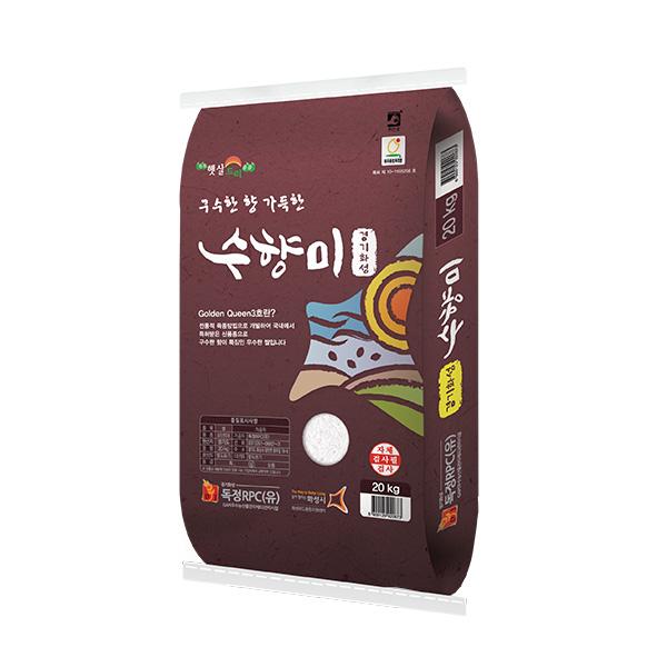 [20년산] 독정 수향미쌀 20kg (10kg*2) / 골드퀸3호