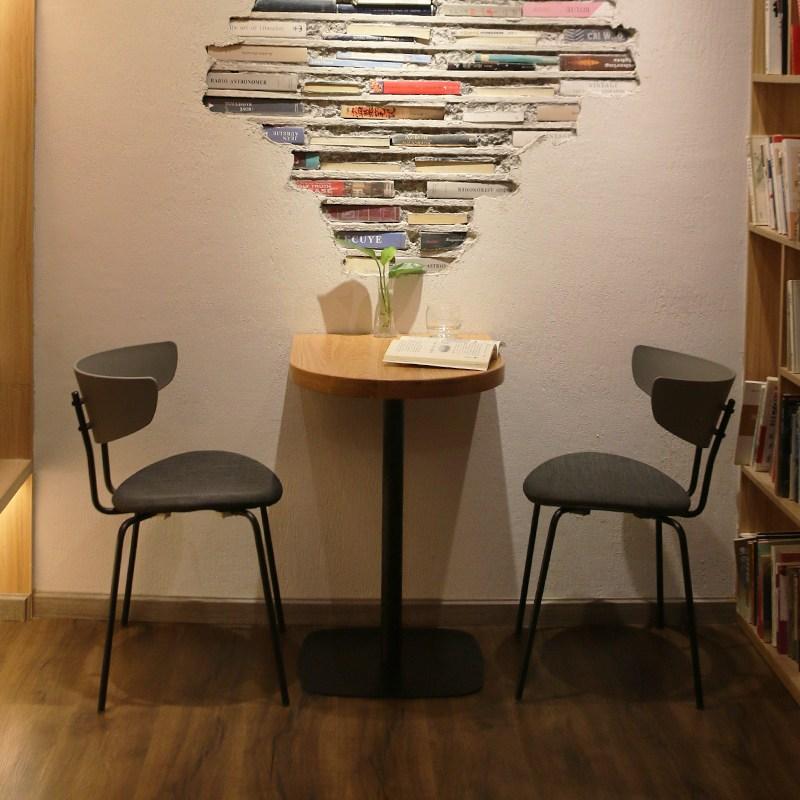 북유럽모던 반타원테이블 반타원형 테이블 티테이블 반타원식탁, 화이트 (하체 원형)