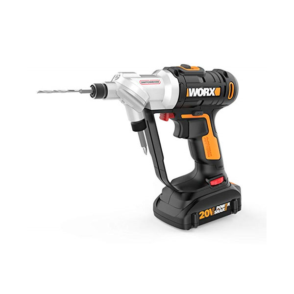 Worx WX176L 20V 스위치 드라이버 드릴, 2.Charger Not Included