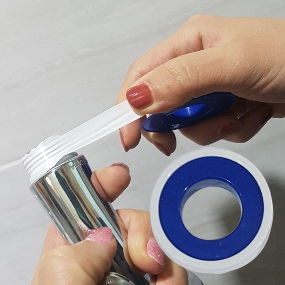 생활공감 테프론테이프-내열 누수방지 방수테이프 수도 배관, 단품
