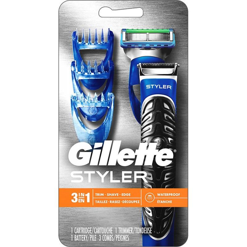 다목적 질레트 스타일러 : 수염 트리머 남성 면도기 및 에저-남성용 퓨전 면도기 / 스타일러, 단일상품, 단일상품