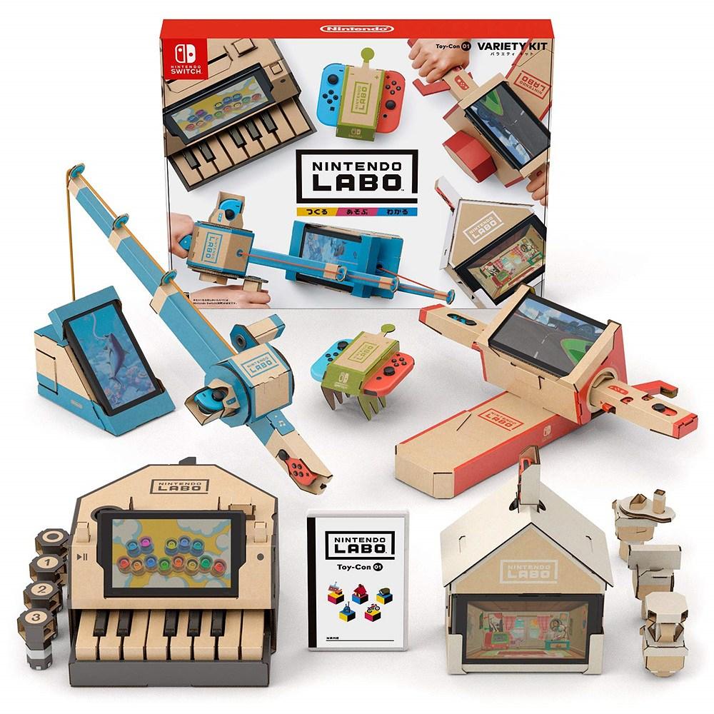 닌텐도 라보 토이 버라이어티 키트 Nintendo Labo Toy Variety Kit - 닌텐도 스위치, 단일상품