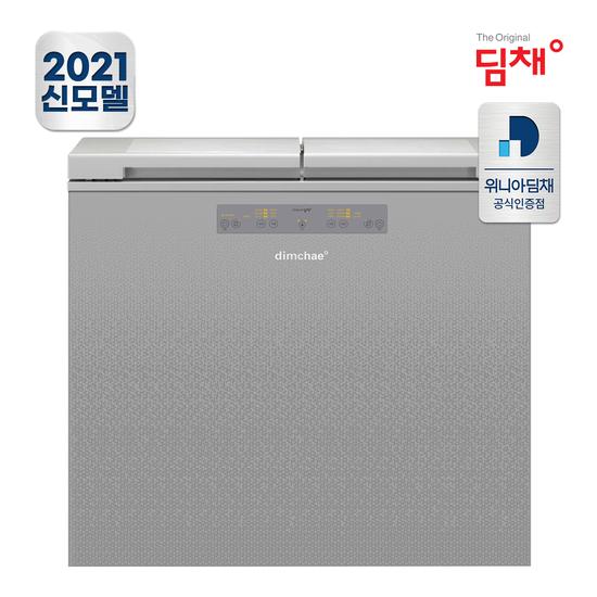[K쇼핑]공식판매 21년형 딤채 뚜껑형 김치냉장고 EDL18EFWPSS (174L)-8-5552720783