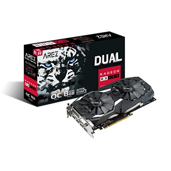 ASUS AREZ DUAL 라데온 RX580 O8G D5 8GB, RX580 O8G 8GB