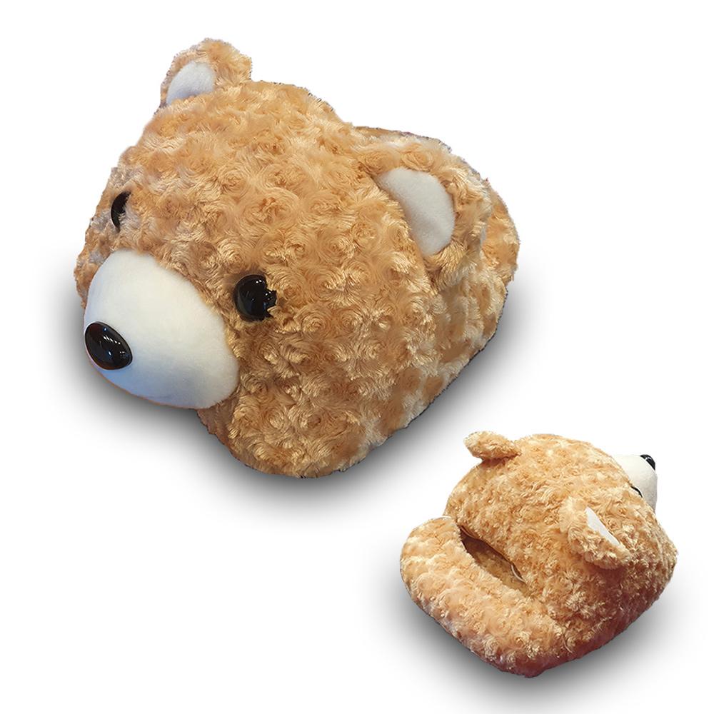 [국산 제품] 곰 돌이 온열 발난로 USB 사무실 가정용 겨울 필수템, 1개