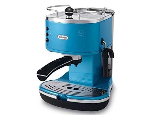 가전용품 커피머신 커피메이커 원두 부품 DeLonghi Kaffeemaschine Icona *blau*, 단일옵션