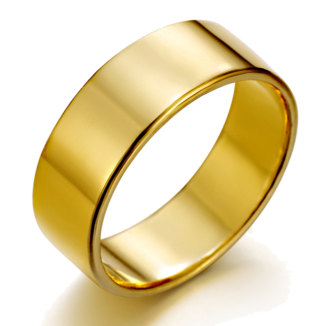 [커플레인] 24K 순금 반지 남자 여자 공용 [1돈 2돈 3돈 4돈 5돈 선택]
