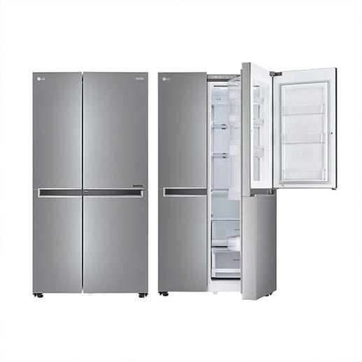 LG전자 양문형 디오스 냉장고 S833S32+양수냄비, 삼성카드 5% (20년/8월) LG전자 양문형 디오스 냉장고 S833S3