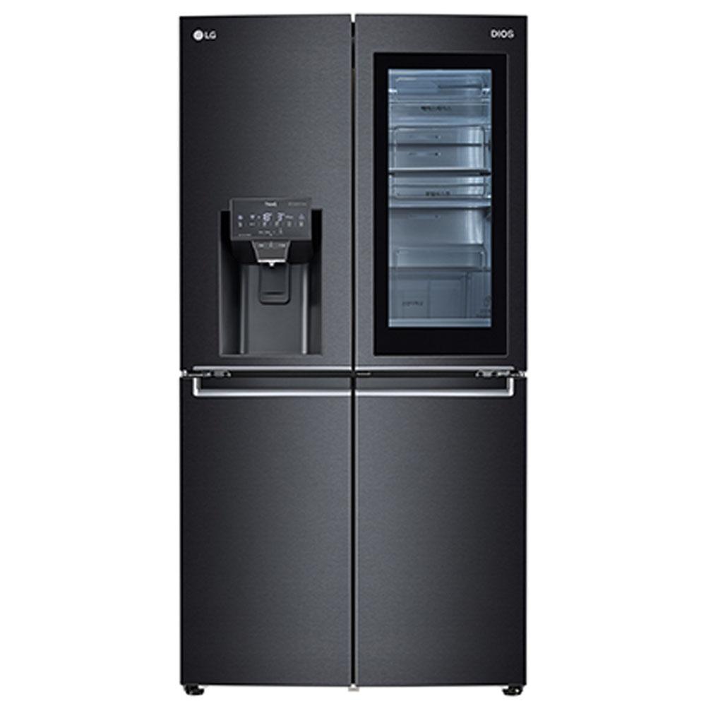 LG전자 J823MT75 노크온 매직스페이스 얼음정수기 냉장고