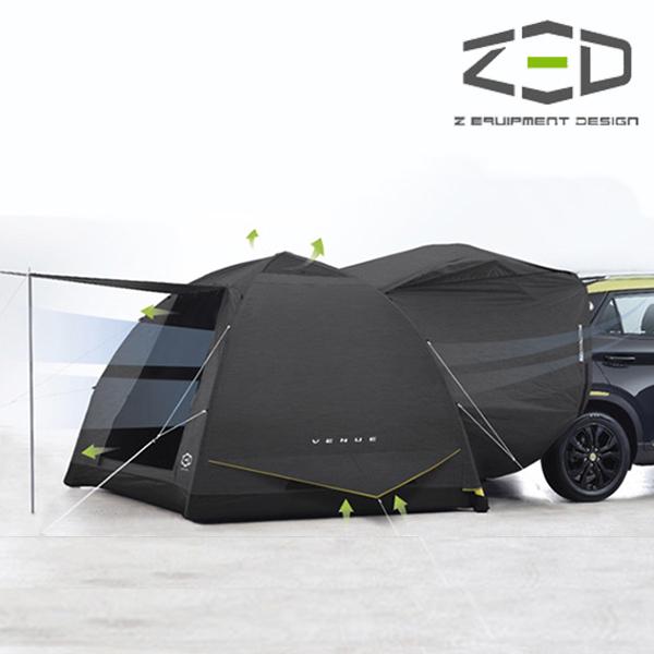 제드코리아 베뉴 소형 SUV전용 에어 차박텐트