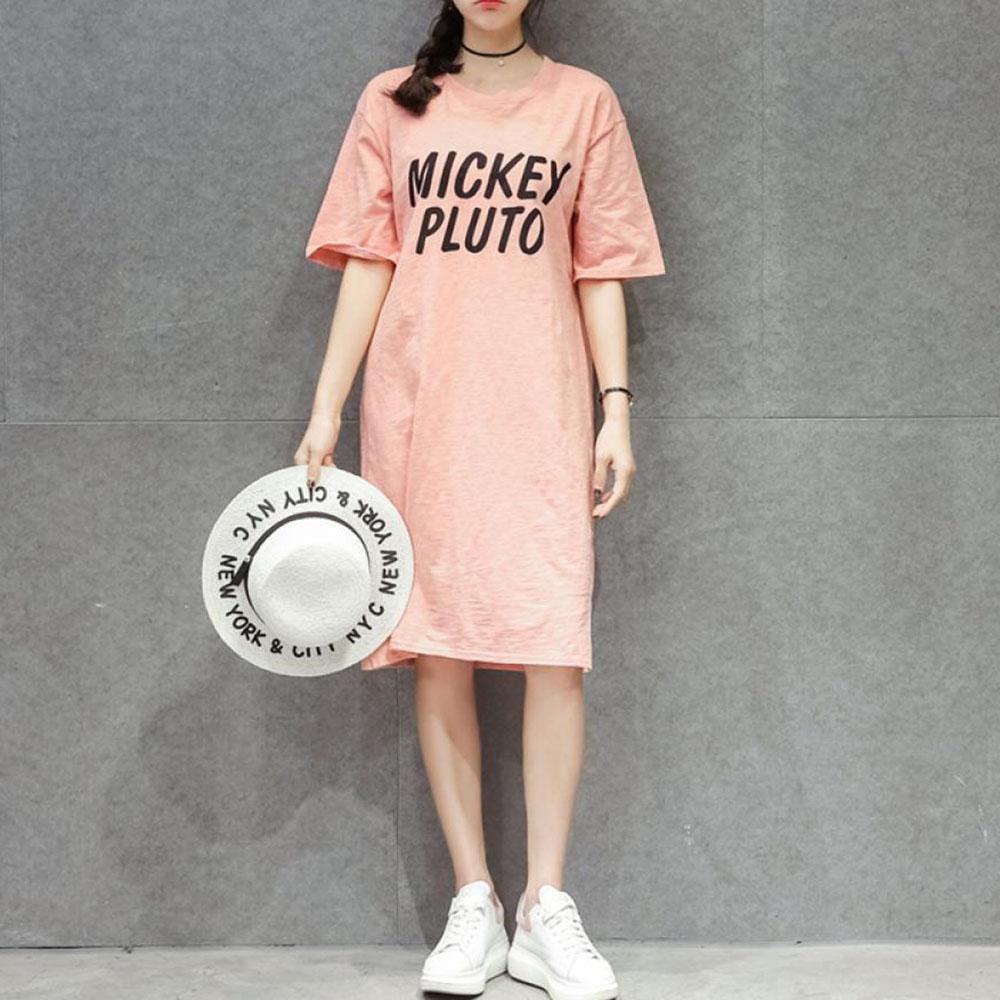 여자 여름 빅사이즈 얇은 롱티셔츠 임부복 원피스 27호 AEpqm3q