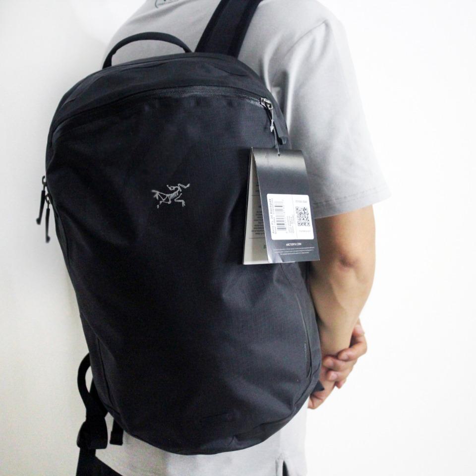 Arcteryx 아크테릭스 방수 맨티스 등산백팩 Granville Zip 18792-215, 블랙
