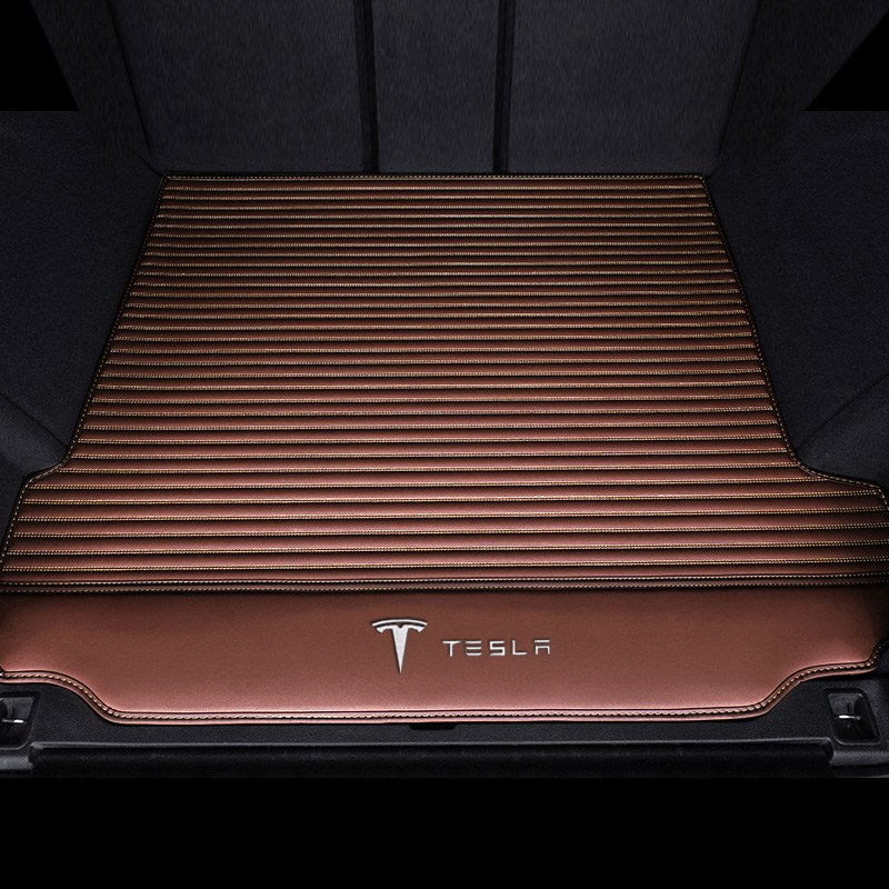 Tesla Model3 트렁크 매트, 타입 B 커피 색상