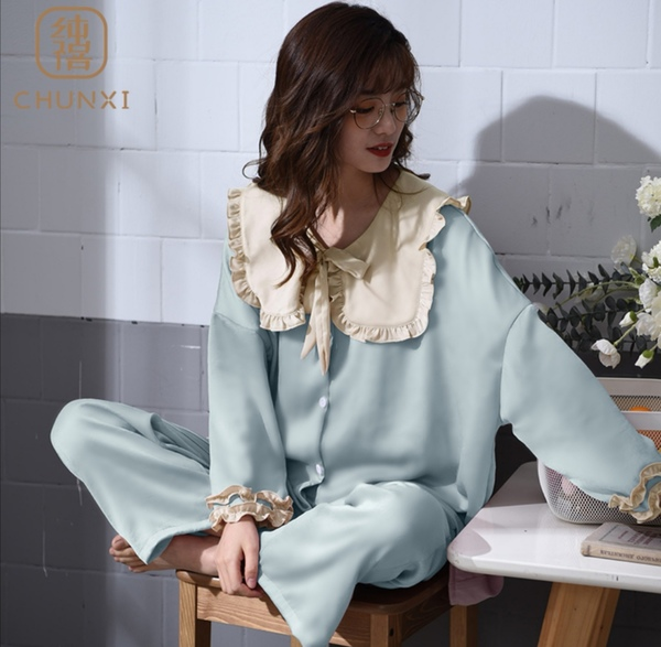 w851-1 빅사이즈 귀엽고 여성스러운 잠옷