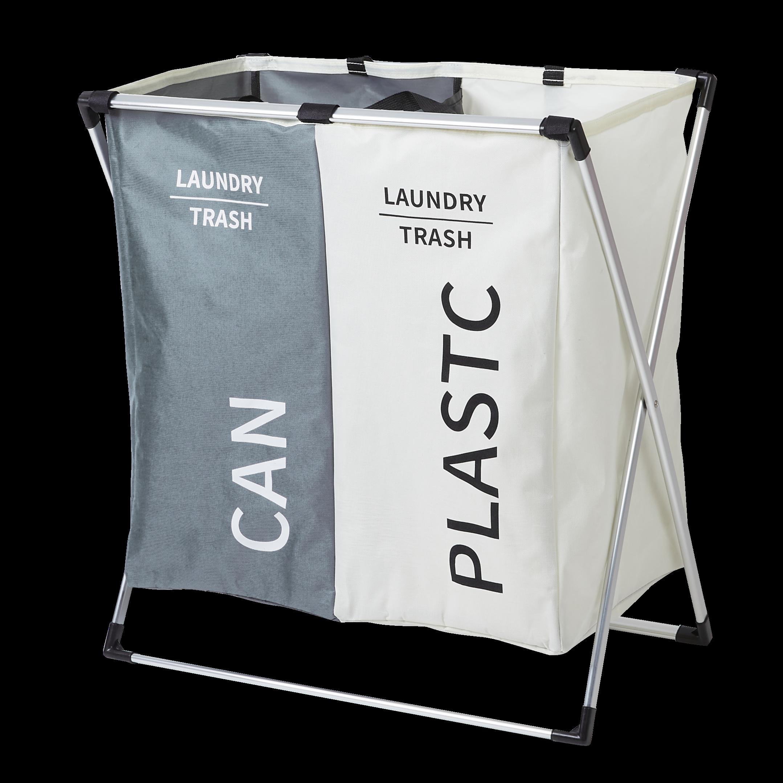할메이드 가정용 이동식 대용량 재활용 쓰레기 분리수거함 쓰레기통 2단 3단