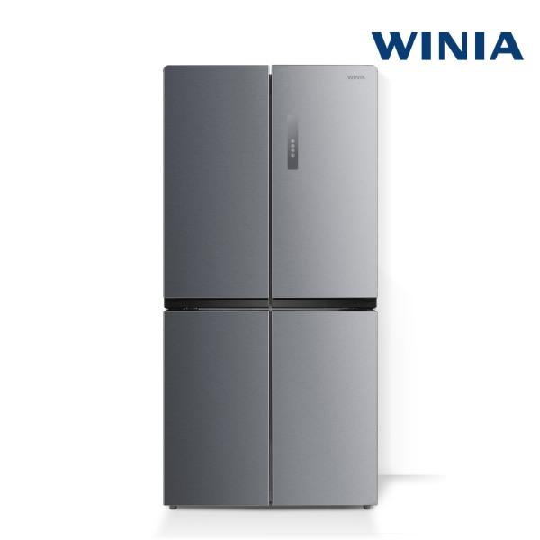 [위니아] 메탈세미빌트인 냉장고 479리터/4도어 WRB480DMS 전국무료설치배송, 상세 설명 참조