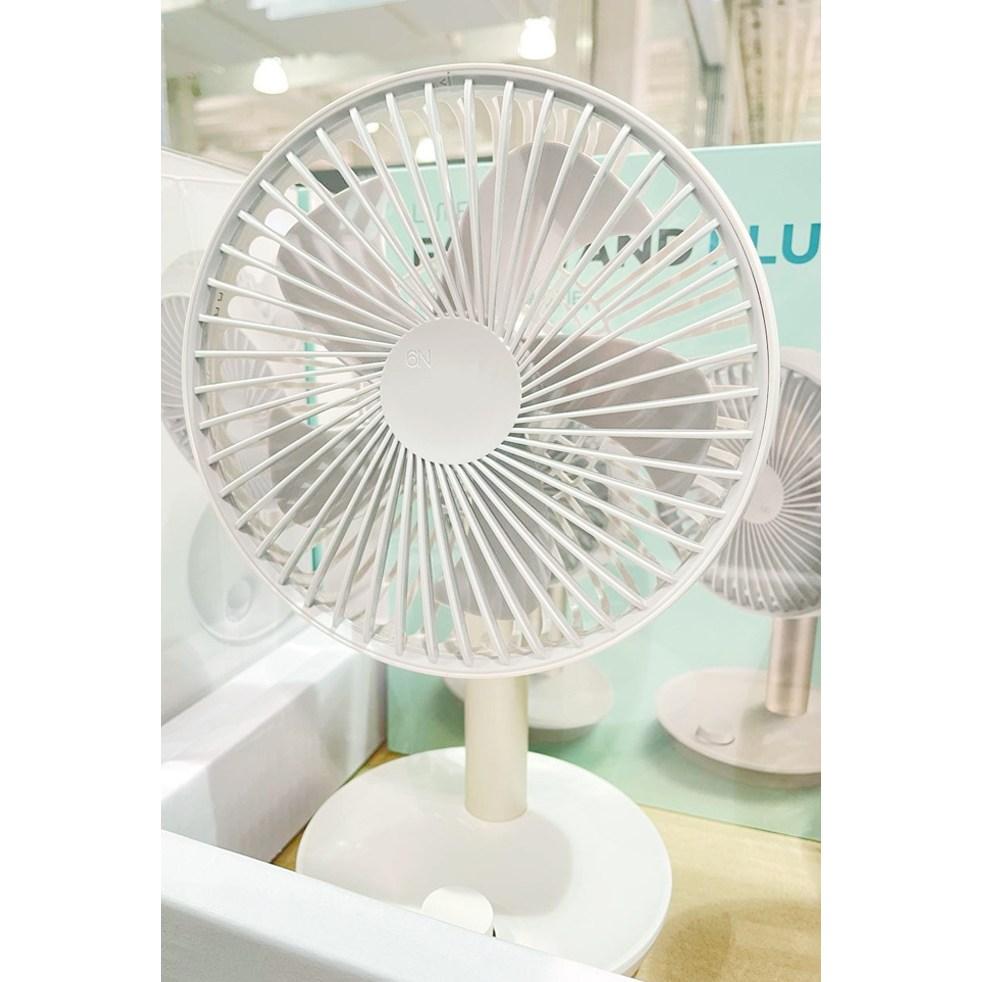 탁상용 선풍기/휴대용 선풍기/스탠다드 3/새제품/FAN STAND 3, 화이트
