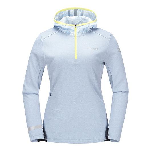 아이더 고슬라 여성 후드 집업 티셔츠 DWU17226