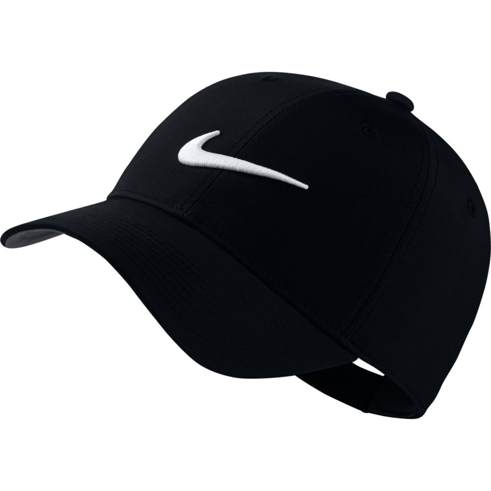 나이키 레거시91 테크 스우시 캡 892651 모자, 블랙