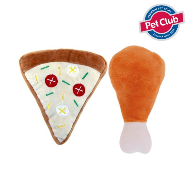 [펫클럽] 벨버드 바닐라향 피자나라 치킨공주인형, 상세 설명 참조