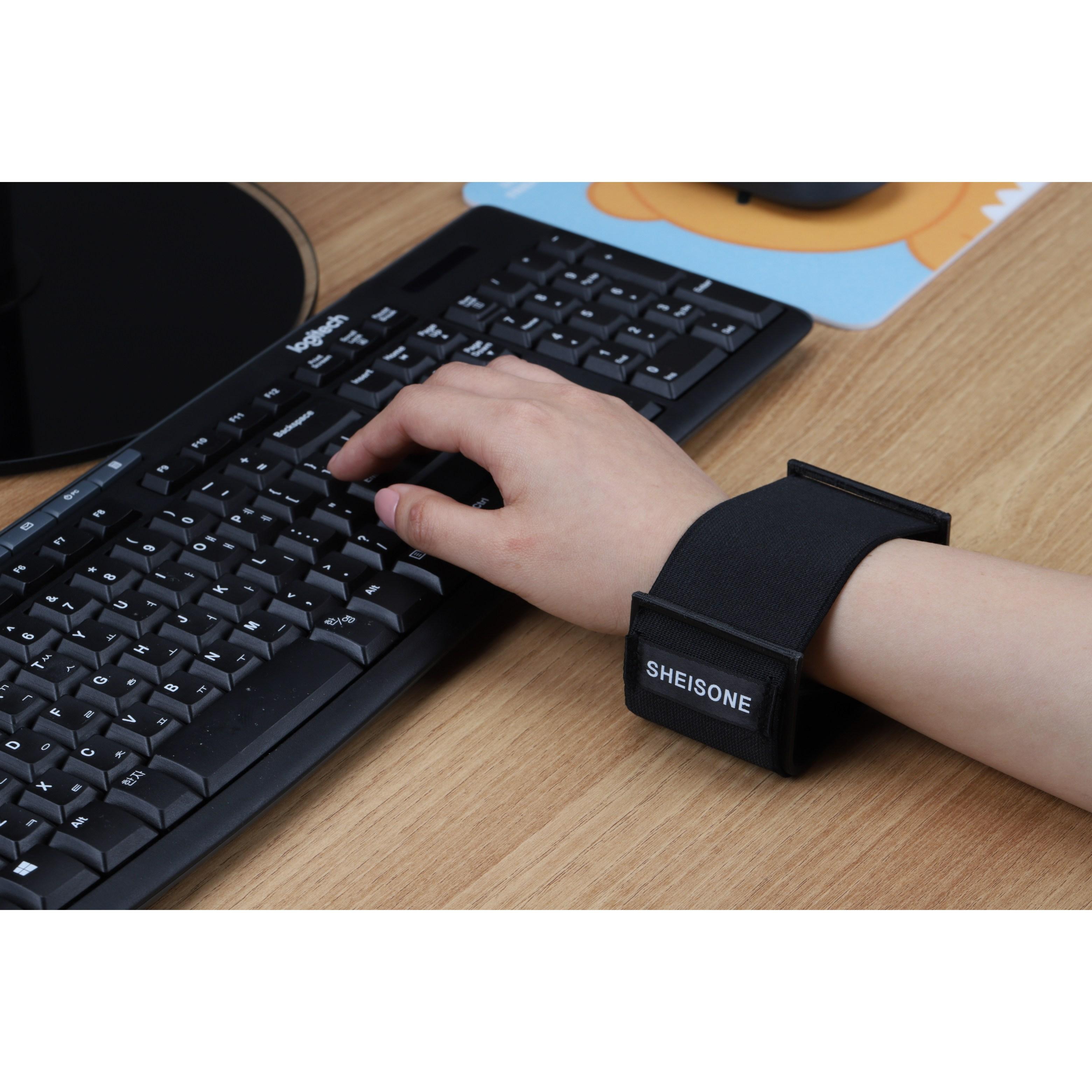 내 손목에 딱 편안한 밴드온 마우스 키보드 컴퓨터 손목 받침대 손목쿠션