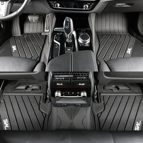 BMW 5시리즈 3W 에코라이너 TPE 카매트 카 차 발 매트 바닥 발판 깔판, 단품, [BMW] 5시리즈 F/L (G30)