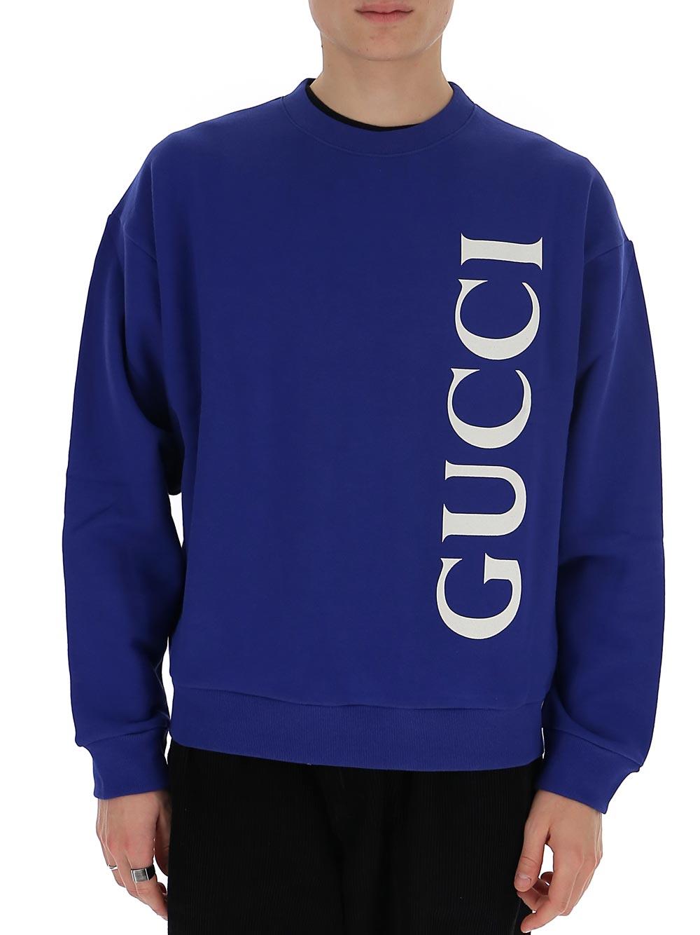 구찌 맨투맨 blue cotton 599345XJB1C4118