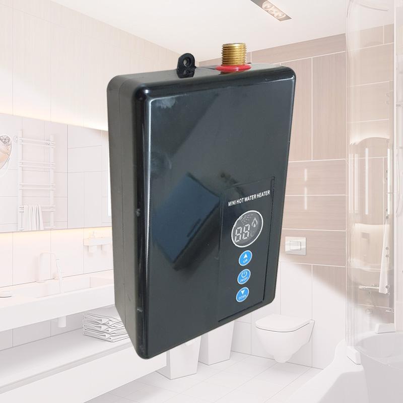 A-PRO 플러스 전기순간 온수기, 블랙