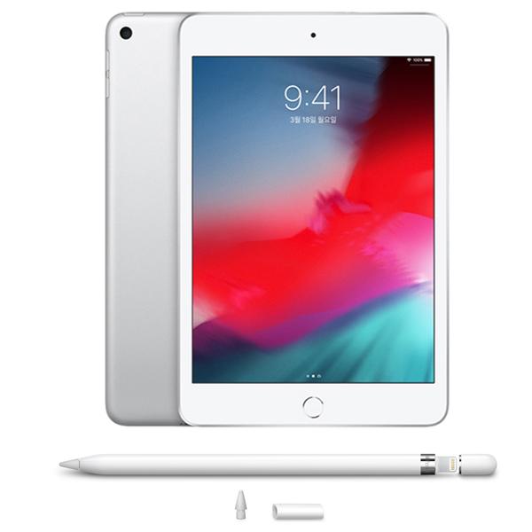 애플 아이패드 미니5 + 애플펜슬 1세대 Wi-Fi 256G 실버 (MUU52KH A) 애플코리아, 선택하세요