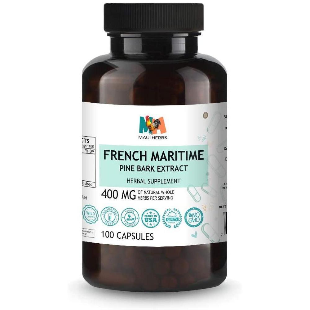 [직구 피크노제놀] French Maritime Pine Bark Extract (95% Proanthocyanidin) Complex for Circulation Blood F, 1set, 1set