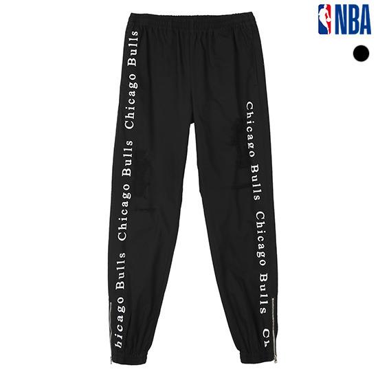 NBA 유니 밑단 지퍼 이밴드 팬츠 (N191PT104P)