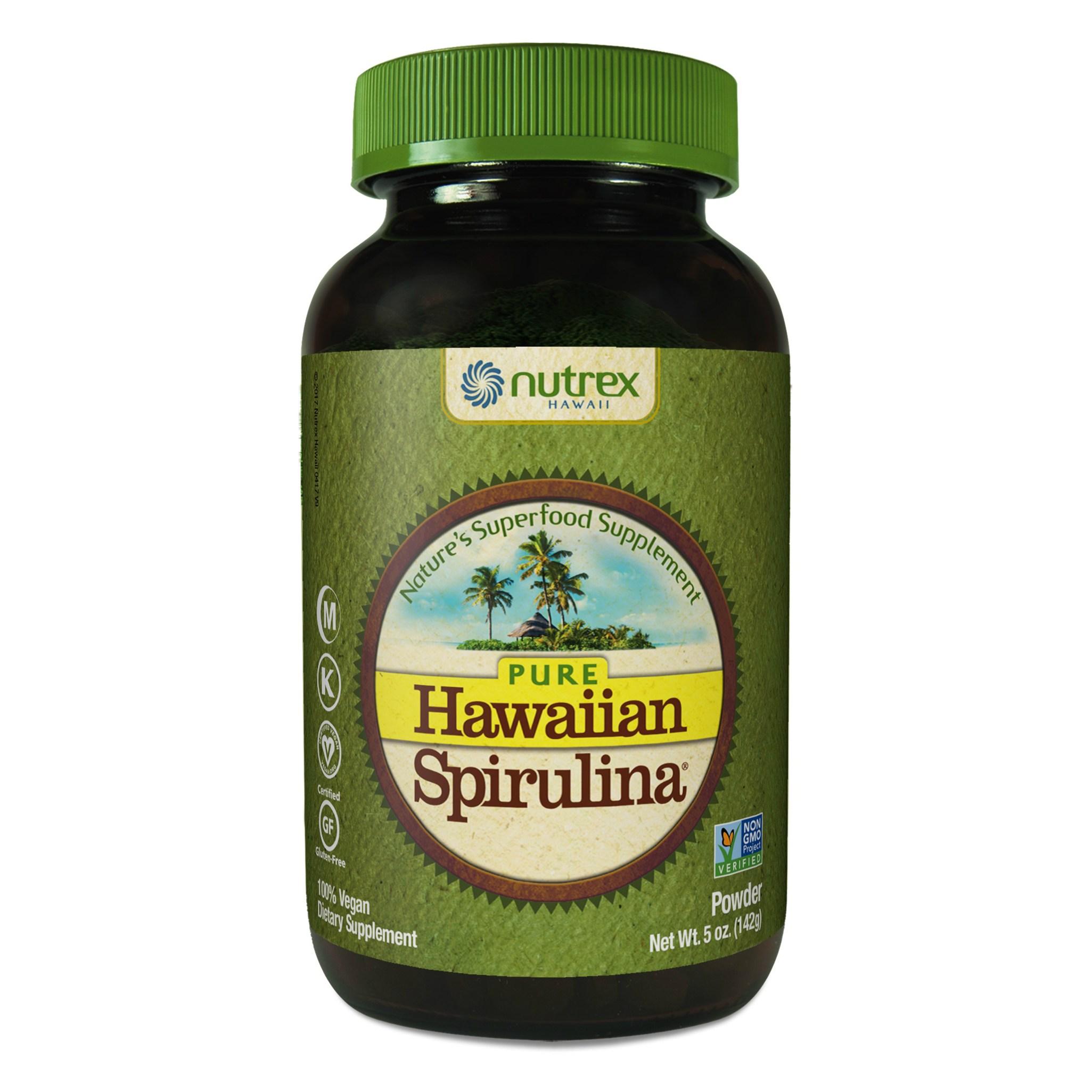 뉴트렉스하와이 퓨어 하와이안 스피룰리나 퍼시피카 파우더, 142g, 1개