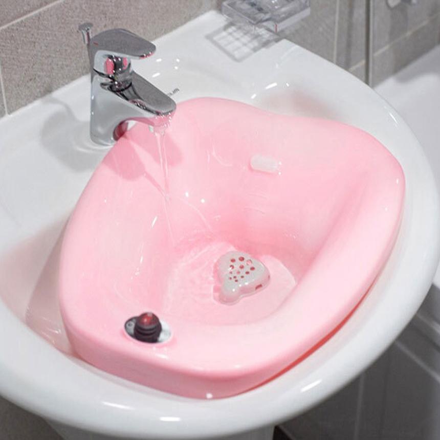 비타그램 버블 무선 좌욕기 가정용 욕실용품 쑥 30포 포함, 쑥30포티백