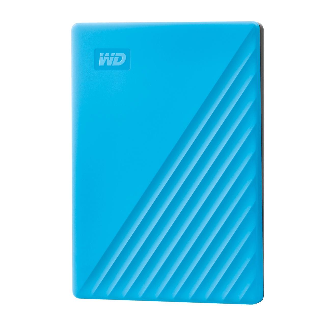 WD 마이 패스포트 모바일 드라이브 USB 3.0 외장하드 2.5인치, Blue, 2TB
