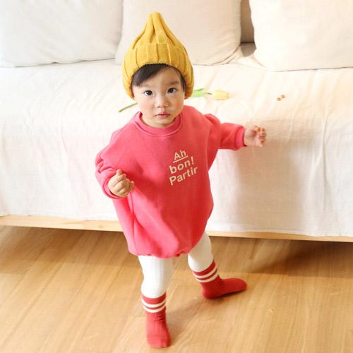 아기옷 아기 신생아 유아봄 우주복 바디슈트-양기모 아본슈트