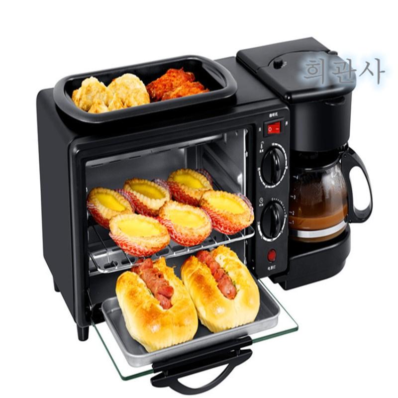 한번에 미니 스마트쿠커 전기냄비 멀티쿠커 쿠킹마스터 아침 식사 기계 다기능 4in1, [92] 검정
