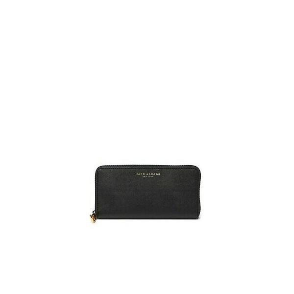 173394 마크제이콥스 Collection 블랙 사피아노 가죽 슬림 Zip 지갑