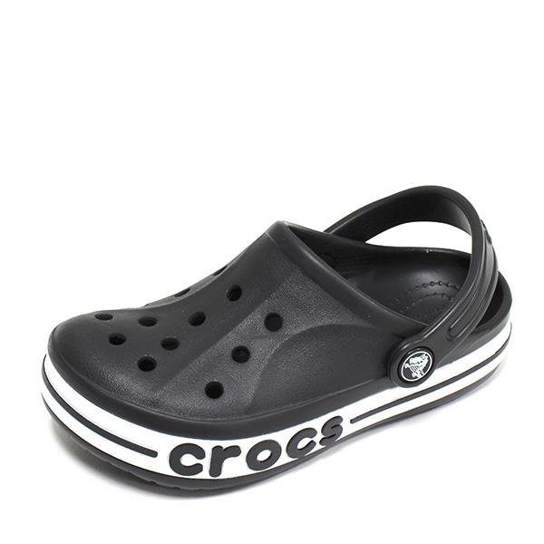 크록스 키즈 바야밴드 클로그 K 샌들 블랙 유아 주니어 아동 슬리퍼 아동화 신발 205100-001