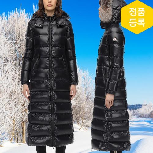 몽클레어 [백화점AS] 허드슨 블랙 여성 패딩 전사이즈