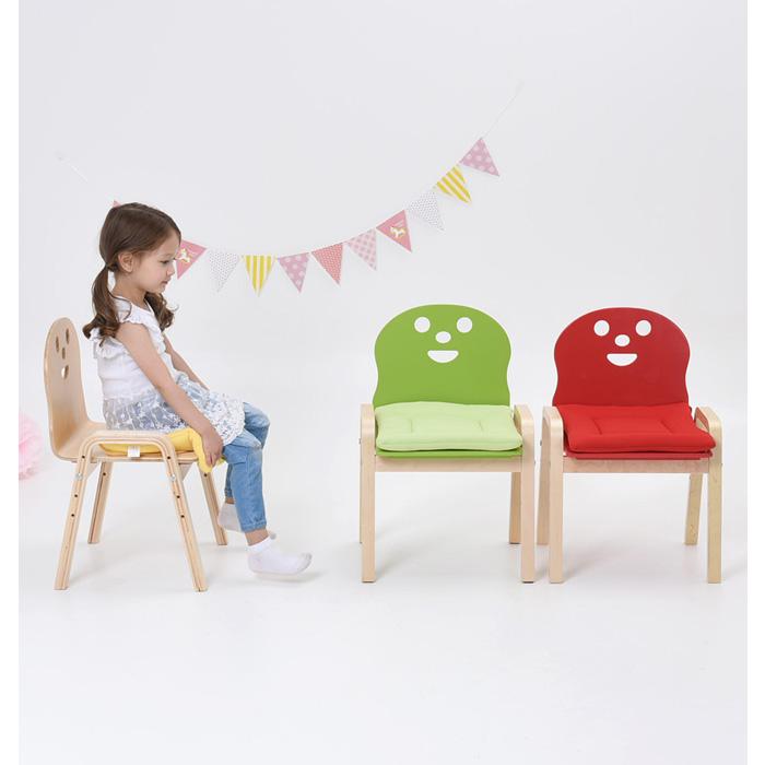 비카 4단 높이조절 의자 유아의자/아동의자/이케아, 내츄럴
