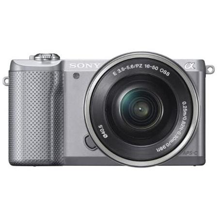 Sony Alpha a5000 Mirrorless Digital Camera with 16-50mm OSS Lens (Silver), 상세 설명 참조0