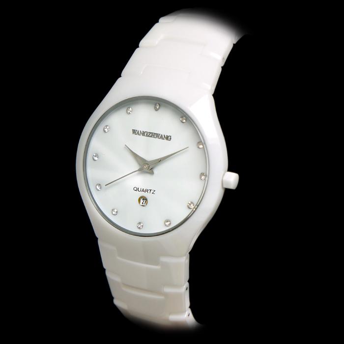 커플시계 왕중왕 손목시계 도자기 시계방수 여성시계 남자시계 화이트 여성 커플용품