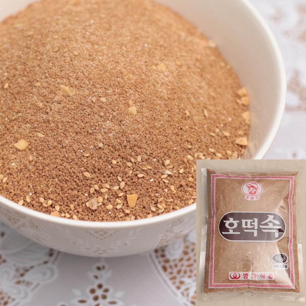 쿡앤베이크 꿀물이 주루륵~ 송편소 겸용 호떡속 1kg, 1개