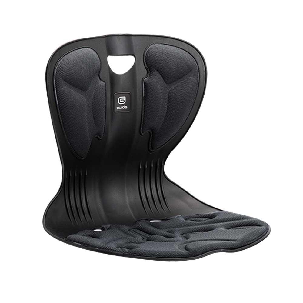 인포벨 자세교정 의자 등받이 에이블루 커블체어 컴피 와이더 자세보정의자a 자세보정의자, 04_와이더_블랙