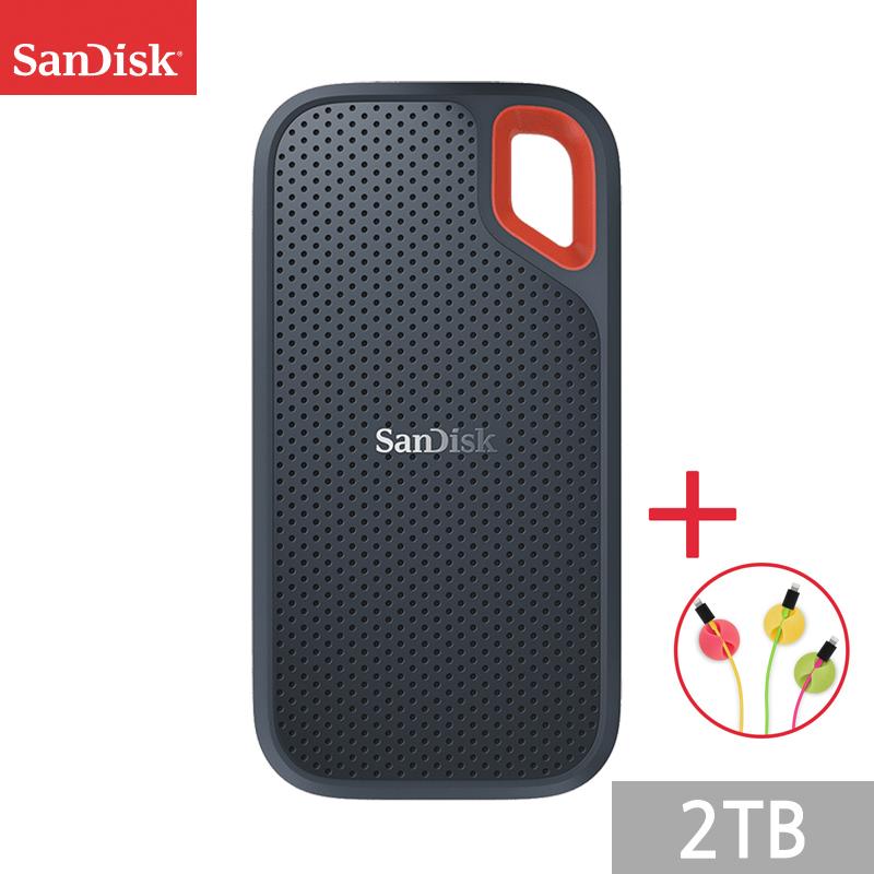 샌디스크 익스트림 포터블 외장 SSD E61 1050MB/s + 사은품, 네이비, 2TB