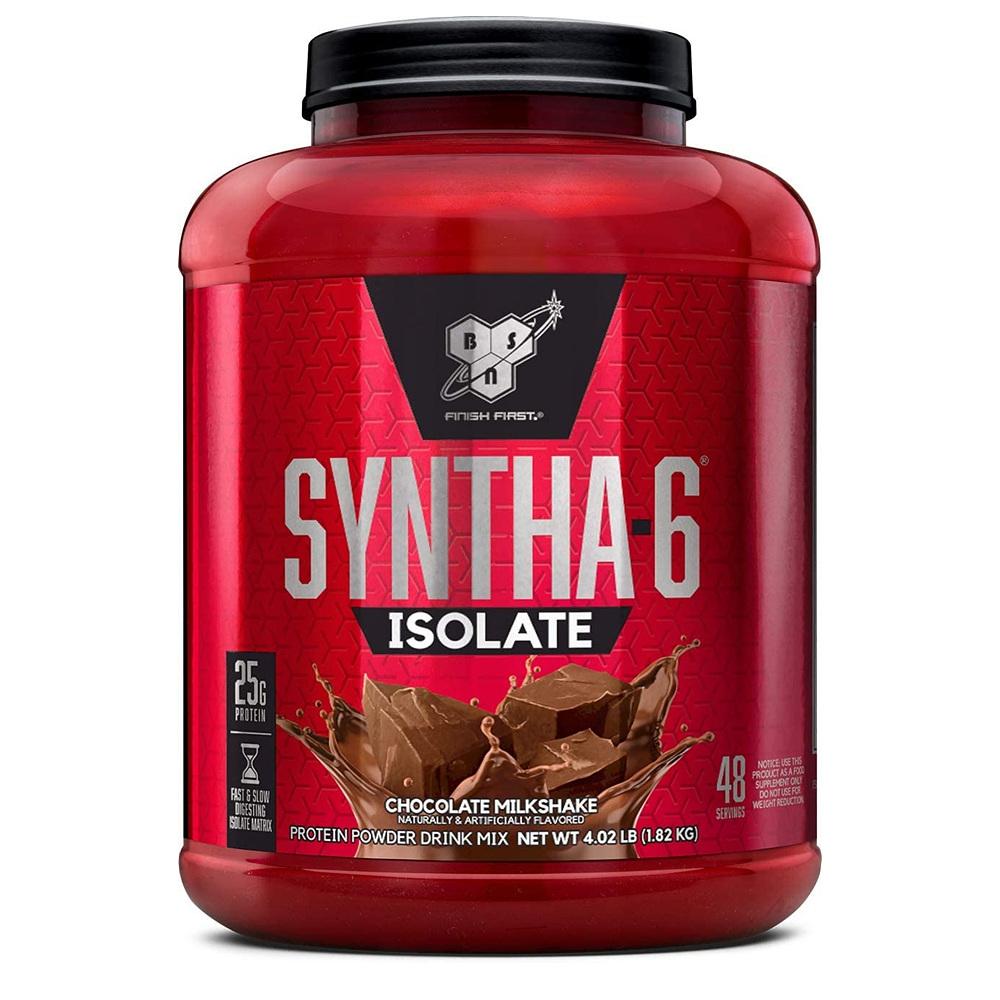 신타6 BSN SYNTHA-6 아이솔레이트 프로틴 파우더 초콜릿 밀크 쉐이크 1820g 운동전 보충제