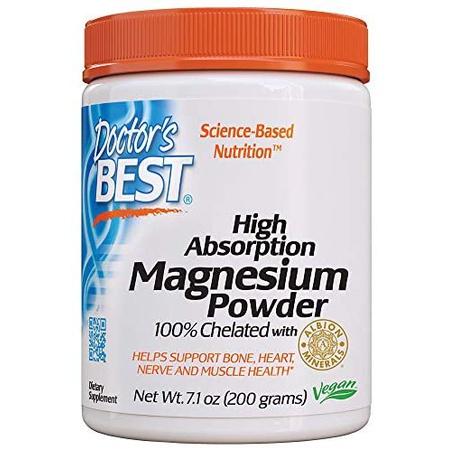 해외1334260 마그네슘 파우더 Doctors Best High Absorption Magnesium Powder 100% Chelated Non-GMO V, One Color_7.1 Ounce Pack of 1, 상세 설명 참조0