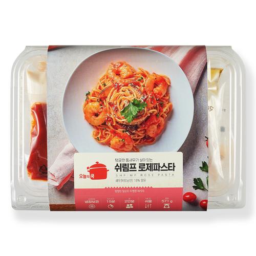 [오쿡] 쉬림프 로제 파스타 (2인분)